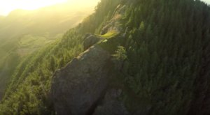 These Photographers Filmed Their Oregon Backpacking Adventure By Drone… And It's Breathtaking