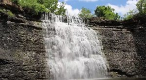 11 Unbelievable Kansas Waterfalls Hiding In Plain Sight… No Hiking Required