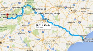 This Haunting Road Trip Through North Carolina Ghost Towns Is One You Won't Forget