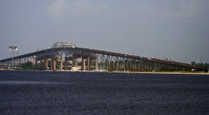 The Calcasieu River Bridge in Louisiana Is One Of The Most Dangerous