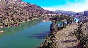 The Breathtaking Blue Waters Of This River In Western Montana Will Blow You Away