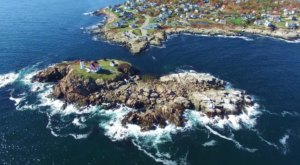 What This Drone Footage Caught In Maine Will Drop Your Jaw: Part 2
