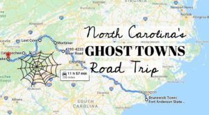 This Haunting Road Trip Through North Carolina's Ghost Towns Is One You Won't Forget