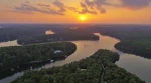 This Bird's Eye View Of Alabama's Smith Lake Will Drop Your Jaw