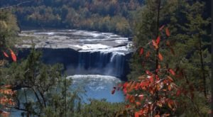 This Unbelievable Kentucky Waterfall Is Hiding In Plain Sight… No Hiking Required