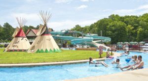 An Exciting Campground In Maryland, Frontier Town Will Bring Out The Adventurer In You