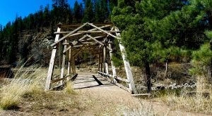 These 8 Crumbling Abandoned Bridges In New Mexico Will Transport You To The Past