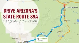 Take This Road To Nowhere In Arizona To Get Away From It All