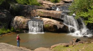 These 6 Waterfall Swimming Holes In South Carolina Are Fantastic For A Summer Day
