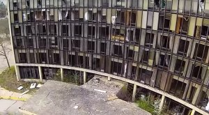 What This Drone Footage Captured At This Abandoned Indiana Hospital Is Truly Grim