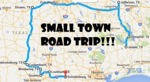 Take This Road Trip Through Texas' Most Picturesque Small Towns For An Unforgettable Experience