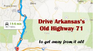 Take This Road To Nowhere In Arkansas To Get Away From It All