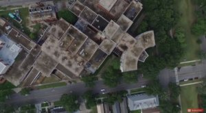 What This Drone Footage Captured At This Abandoned New Orleans Medical Center Is Truly Grim