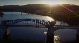 What This Drone Footage Caught In Tennessee Will Drop Your Jaw
