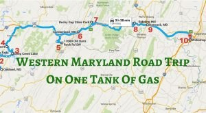 10 Amazing Places You Can Go On One Tank Of Gas In Western Maryland