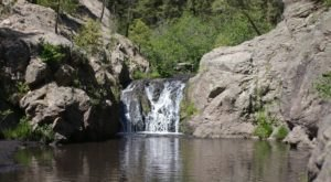 This Magical Waterfall Campground At Jemez Falls In New Mexico Is A Beautiful Retreat