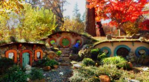 An Abandoned Enchanted Hobbit Village Is Crumbling In This California Forest