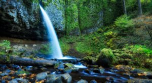 Walk Behind A Waterfall For A One-Of-A-Kind Experience Near Portland