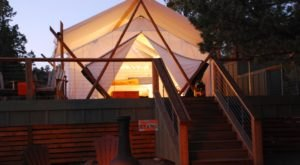 These 7 Luxury Glampgrounds In Oregon Will Give You An Unforgettable Experience
