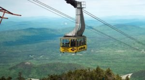 If You Live In New Hampshire, You Must Take This Aerial Tram Over The White Mountains