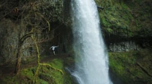 Walk Behind Waterfalls On This One-Of-A-Kind Hike In Oregon