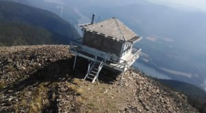 We Dare You To Spend The Night In This Idaho Fire Lookout And Not Love It