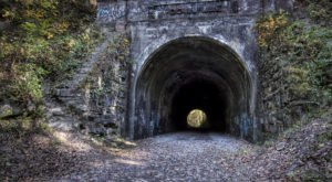 Moonville Tunnel Is A Haunted Tunnel In Ohio That Has A Dark History