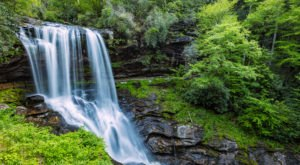 Walk Behind A Waterfall For A One-Of-A-Kind Experience In North Carolina