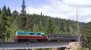 This Epic Train Ride Near Portland Will Give You An Unforgettable Experience