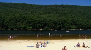 The Hidden Beach at Poe Valley State Park In Pennsylvania Will Make You Feel A Million Miles Away From It All