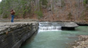 Haw Creek Falls Recreation Area Is A Magical Waterfall Campground In Arkansas