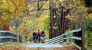 This Rail Trail In New Hampshire Will Take You Someplace Unforgettable