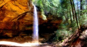 Walk Behind A Waterfall For A One-Of-A-Kind Experience In Ohio