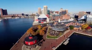 This Bird's Eye View Of Baltimore Is Stunningly Beautiful