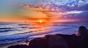 Locals Love The Stunning Sunsets At This Popular Southern California Surf Spot