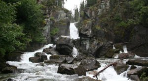 This Magical Waterfall Campground In Alaska Is Unforgettable