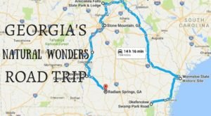 This Natural Wonders Road Trip Will Show You Georgia Like You've Never Seen It Before