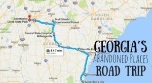 Take A Thrilling Road Trip To The 8 Most Abandoned Places In Georgia