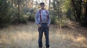 This 93-Year-Old Man Lived Out His Dream In A Remote Wilderness Homestead In California