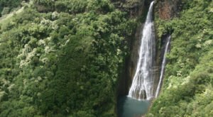 The Famous Hawaiian Waterfall You Can Only See Via Helicopter
