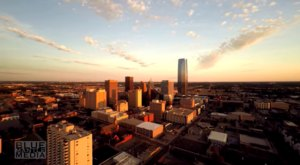 This Aerial Flyover Of Oklaholma City Is Absolutely Stunning