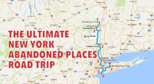 We Dare You To Take This Road Trip To New York's Most Abandoned Places