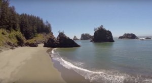 This Hidden Beach In Oregon Will Take You A Million Miles Away From It All