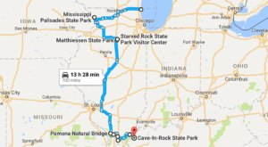 This Natural Wonders Road Trip Will Show You Illinois Like You've Never Seen It Before