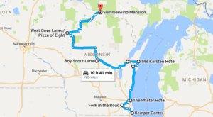 The Terrifying Wisconsin Road Trip That's Creepy But Fun