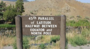Stand Halfway Between The Equator And North Pole In This One Spot In Wyoming