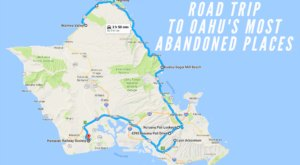 We Dare You To Take This Road Trip To Oahu's Most Abandoned Places