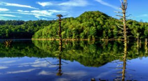 This Lovely Lake Is A Hidden Gem Tucked Away In The Mountains Of West Virginia
