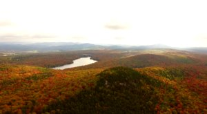Vermont's Fall Foliage Looks Positively Stunning By Drone