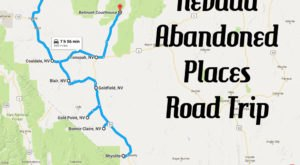 We Dare You To Take This Road Trip To Nevada's Most Abandoned Places